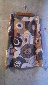 yamaha.noz インテリアファブリックを使ったスカート